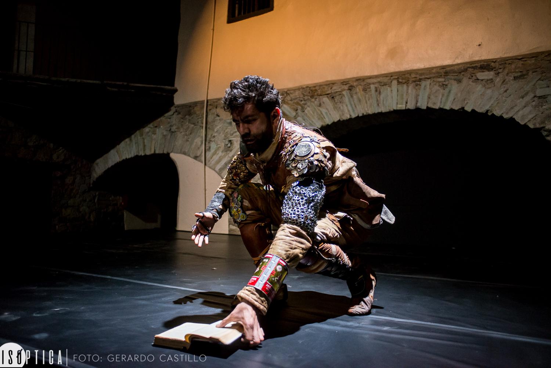 """""""Quijote, vencedor de sí mismo"""" en las Catacumbas, dentro d"""