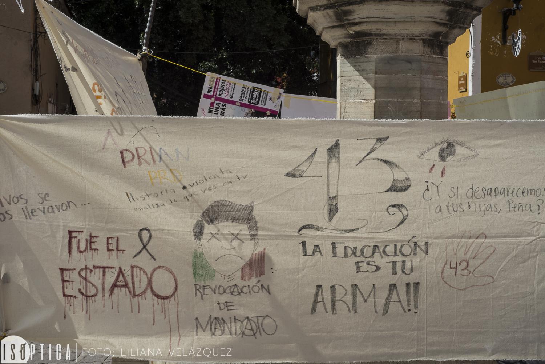 Ayotzinapa en el Cervantino