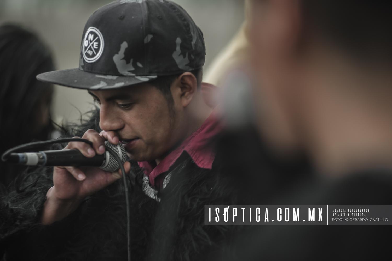Se presentó el grupo de hip hop Slajem K´op (última palabra