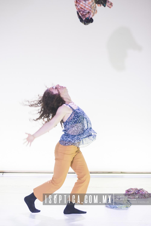 """Se presentó en el Salón de Danza de la UNAM """"El lenguaje de"""