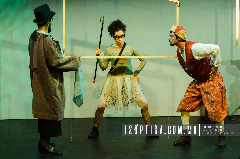 Proyecto Finisterra, Dir. Isabel Romero, Sala Villaurrutia, Solo