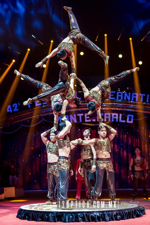 Finalizó el 42do Festival Internacional de Circo de Monte-Carlo